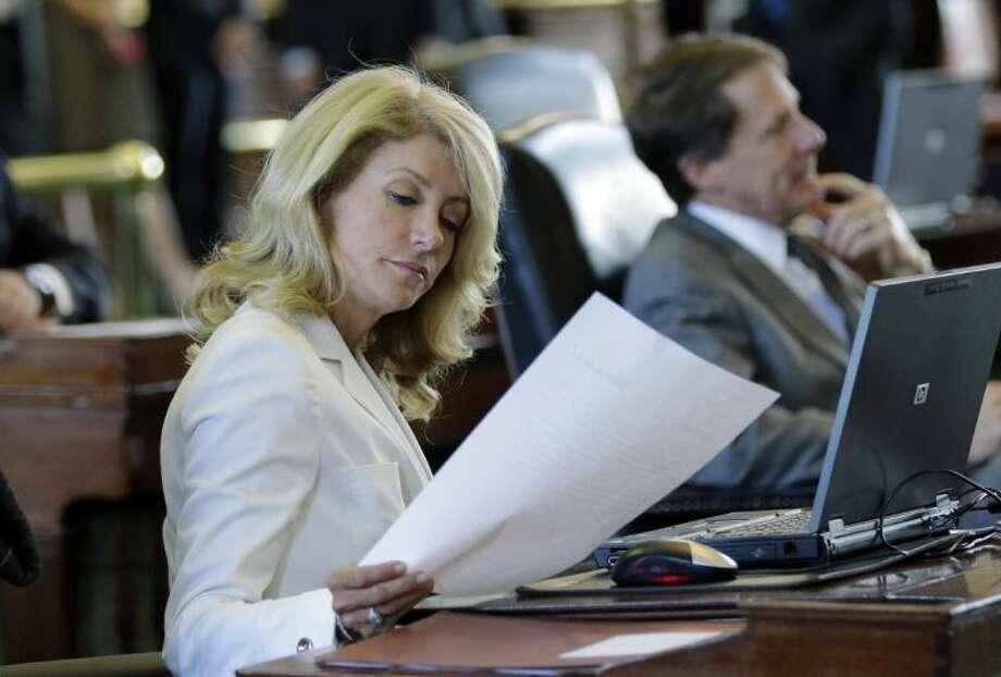 Sen. Wendy Davis, D-Fort Worth