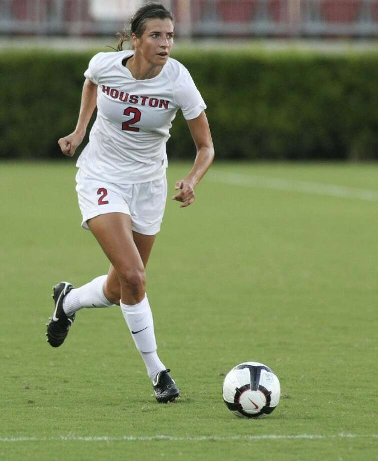 Houston's Kylie Cook tied for third on the team with three goals last season.