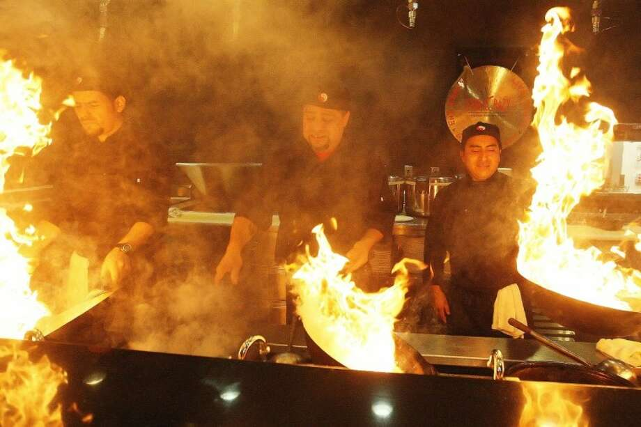 Stir Crazy chefs turn up the heat at the fresh Asian grill near Waterway Square in The Woodlands.