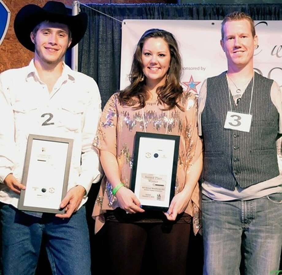 Last year's The Woodlands Idol winners were (from left) Zach Jones and Morgan McKay, both tied for second place, and Jon Sheptock, first place winner. The Seventh Annual The Woodlands Idol competition is now registering for optimistic singers.