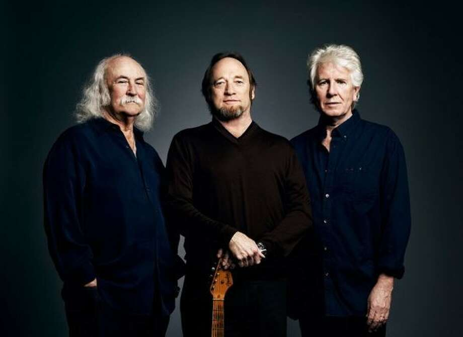 David Crosby, Stephen Stills and Graham Nash who make up Crosby, Stills and Nash will perform at the Cynthia Woods Mitchell Pavilion on Aug. 15.