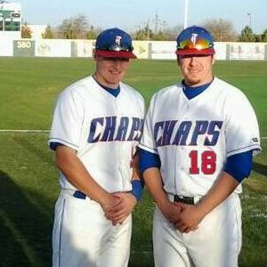Former Montgomery teammates Brennyn Smith, left, and Logan Burch have reunited at Lubbock Christian University.