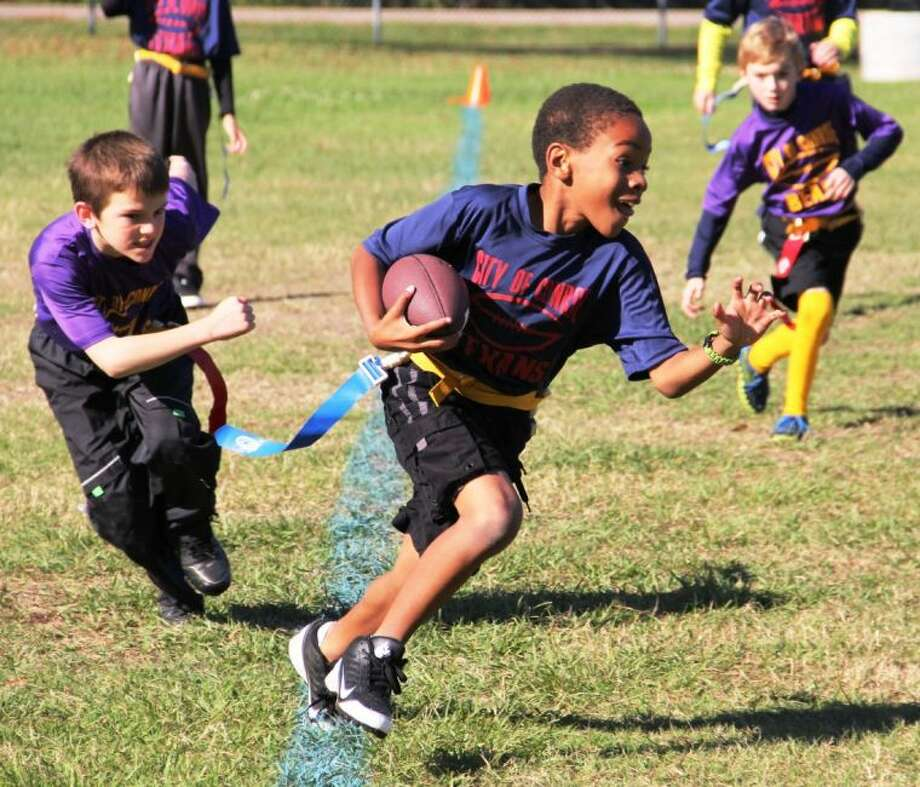 Are you ready for football season? Get in the game with Flag Football with the Conroe Parks and Recreation Department. Registration is open through Sept. 28.