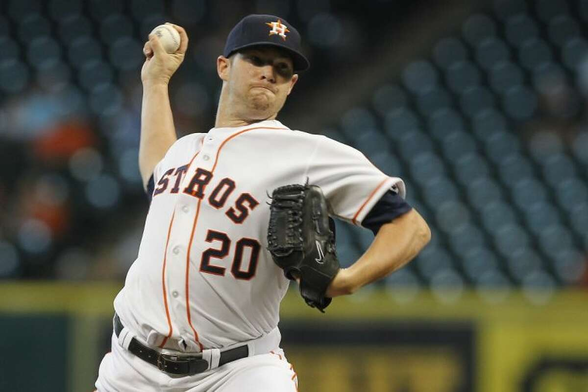 The Houston Astros traded starting pitcher Bud Norris to the Baltimore Orioles on Wednesday in exchange for outfielder L.J. Hoes and left-handed pitching prospect Josh Hader.