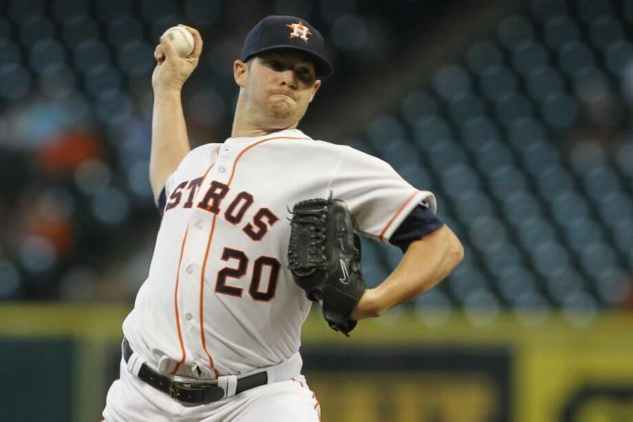 The Houston Astros traded starting pitcher Bud Norris to the Baltimore Orioles on Wednesday in exchange for outfielder L.J. Hoes and left-handed pitching prospect Josh Hader. Photo: Patric Schneider
