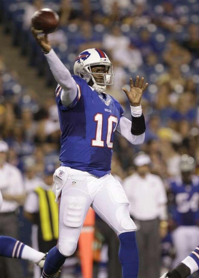 Former Texas star Vince Young has been cut by the Buffalo Bills. Photo: Doug Benz