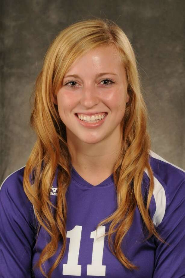 Magnolia grad Paige Holland had 165 assists in her first four matches as the setter for Stephen F. Austin's volleyball team.
