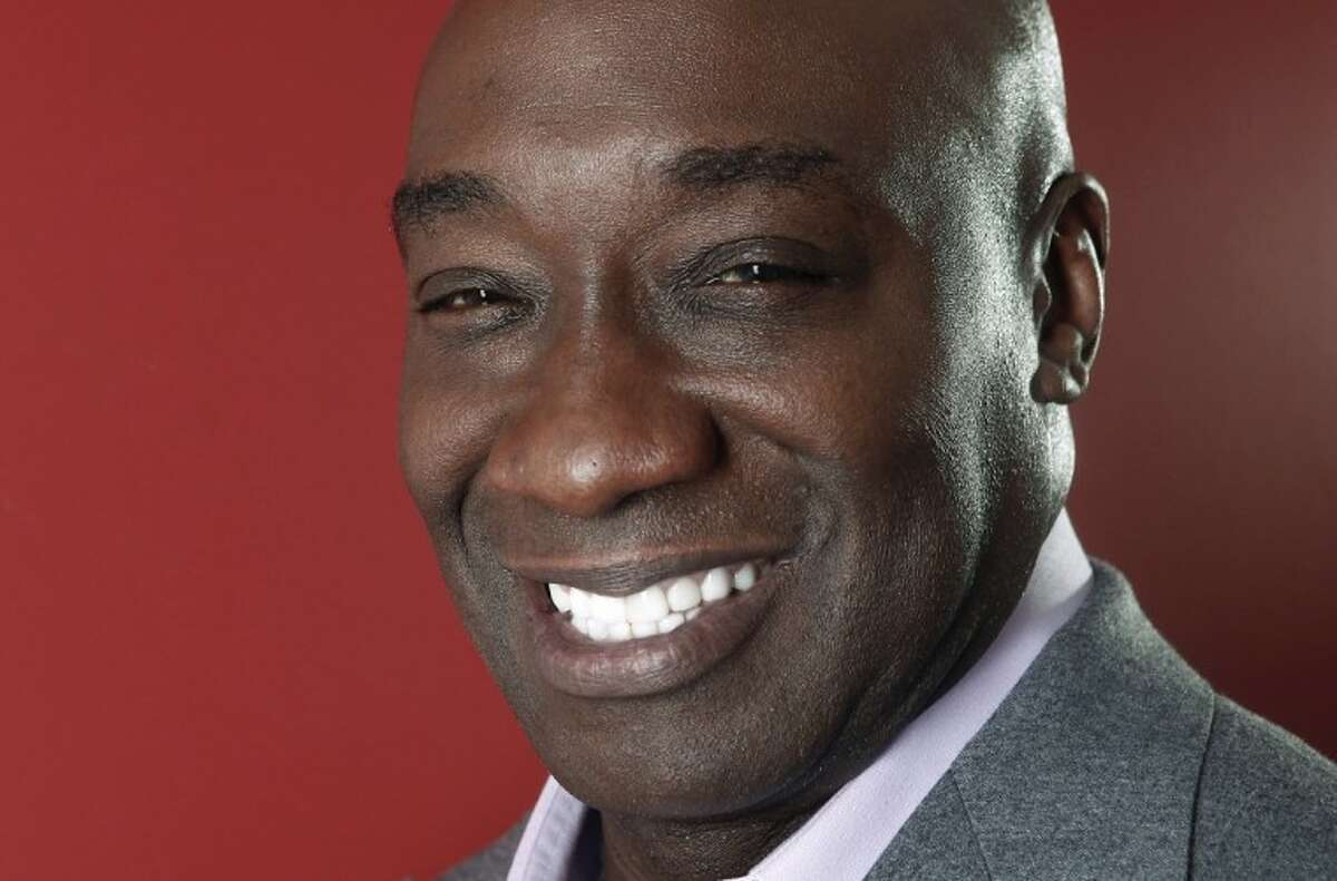 This Wednesday, Jan. 11, 2012 photo shows actor Michael Clarke Duncan in New York. Duncan has died at the age of 54, his fiancee said on Monday.