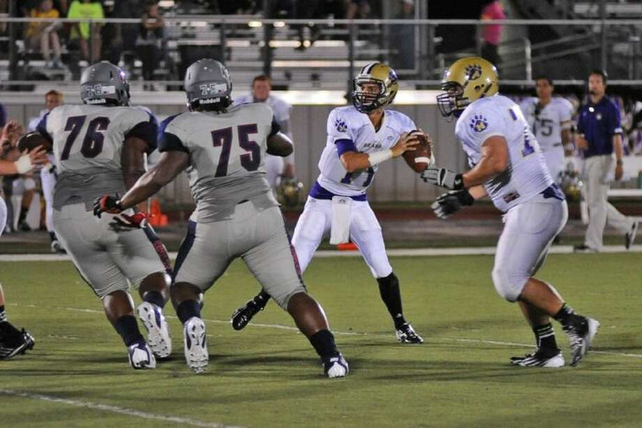 Montgomery junior quarterback Josh Bolfing will start against Dawson on Thursday night at Reliant Stadium after missing the second half of the Bears' 27-13 victory at Angleton last week with a migraine.