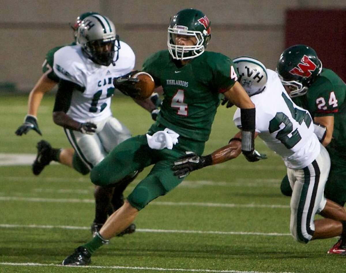 The Woodlands WR Tyler Patrick committed to the University of Kansas last week.