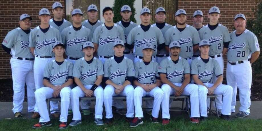 The ORWALL National All-Stars posed for a team photo in their new Southwest Region jerseys on Tuesday at the Big League World Series in Easley, S.C.