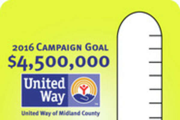 At week two, United Way is at 15 percent of its goal.