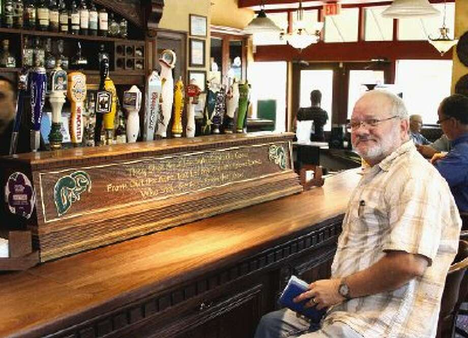 Teetotaler Mark Hayter is baffled by appeal of the pub atmosphere at Goose's Acre Bistro & Irish Pub.