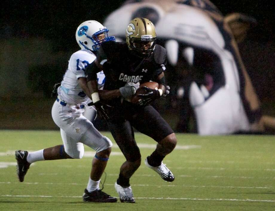 Lamar Hernandez and the Conroe Tigers are on the road against Clear Lake. Photo: Staff Photo By Eric Swist