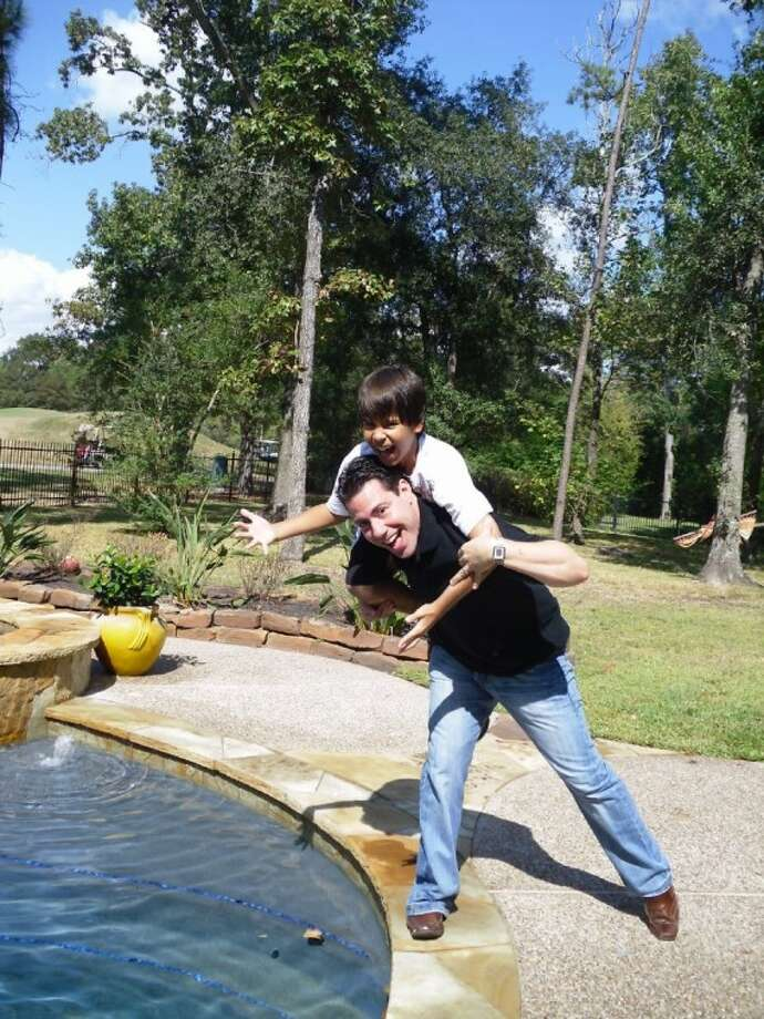 Male Bonding occurred at a recent outing with Mark Adler (big brother) and Connor Pienta (little brother). Pienta benefits from Big Brothers Big Sisters, an MCUW-funded partner.
