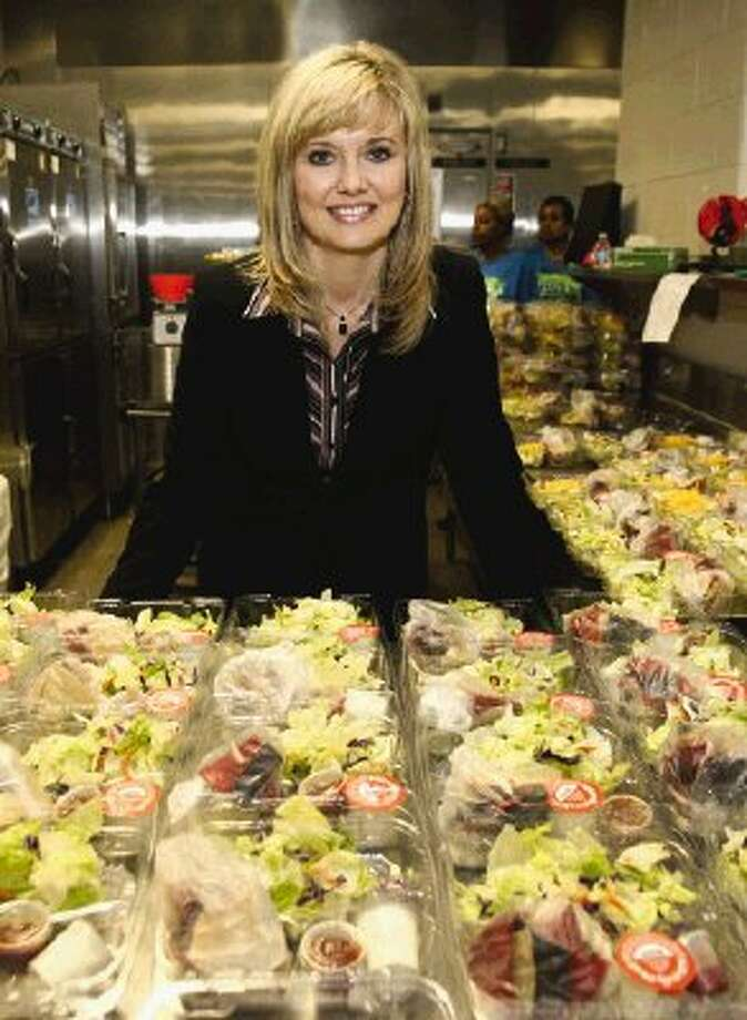 CISD Director of Child Nutrition Robyn Hughes and her staff spent the past summer planning new, healthier school menus for each campus which include fresh fruits and vegetables, whole grains and higher quality foods than last year.