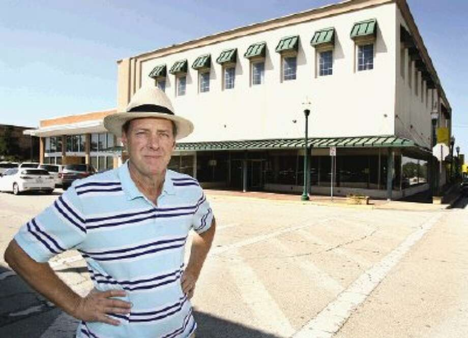 Businessman Mike Canada is planning to open an antique mall in the former J.C. Penney building in downtown Conroe in early November.