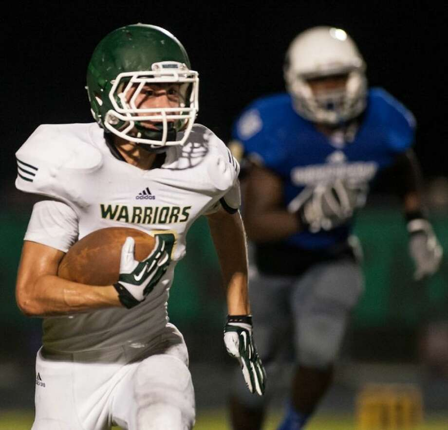 The Woodlands Christian running back Raul Giorgi has 211 yards and one touchdown on 26 carries this season.