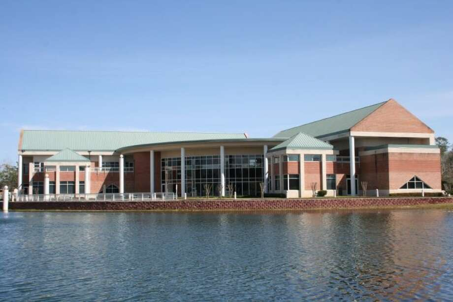 The East Montgomery County Improvement District building could be lost to the development of the Grand Parkway. EMCID board members are considering options such as selling the facility to the state and relocating. The building was built in 2002 and cost $5 million. Photo: MELECIO FRANCO