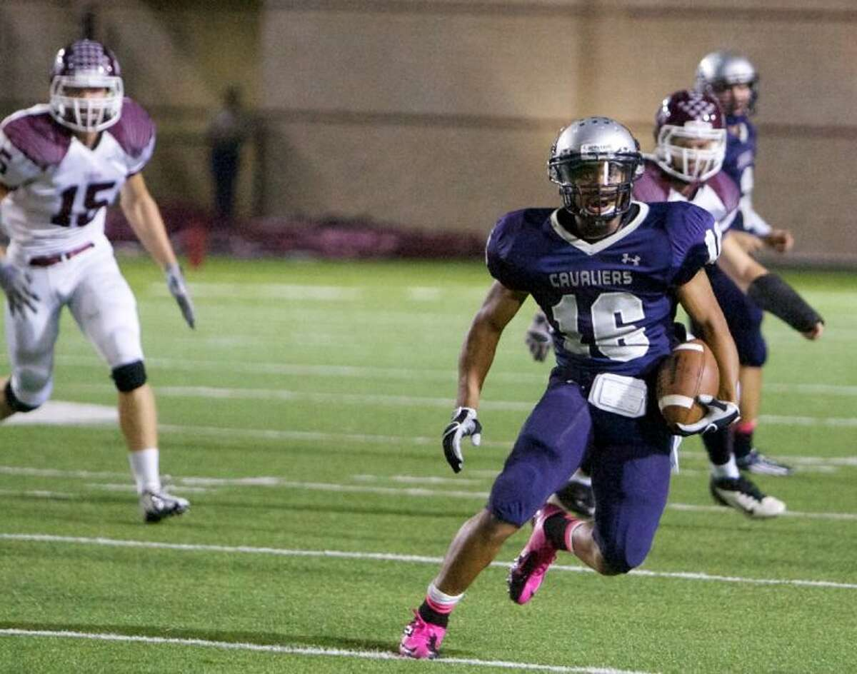 College Park's Nick Black ran for 716 yards and five touchdowns on 115 carries as a junior last season.