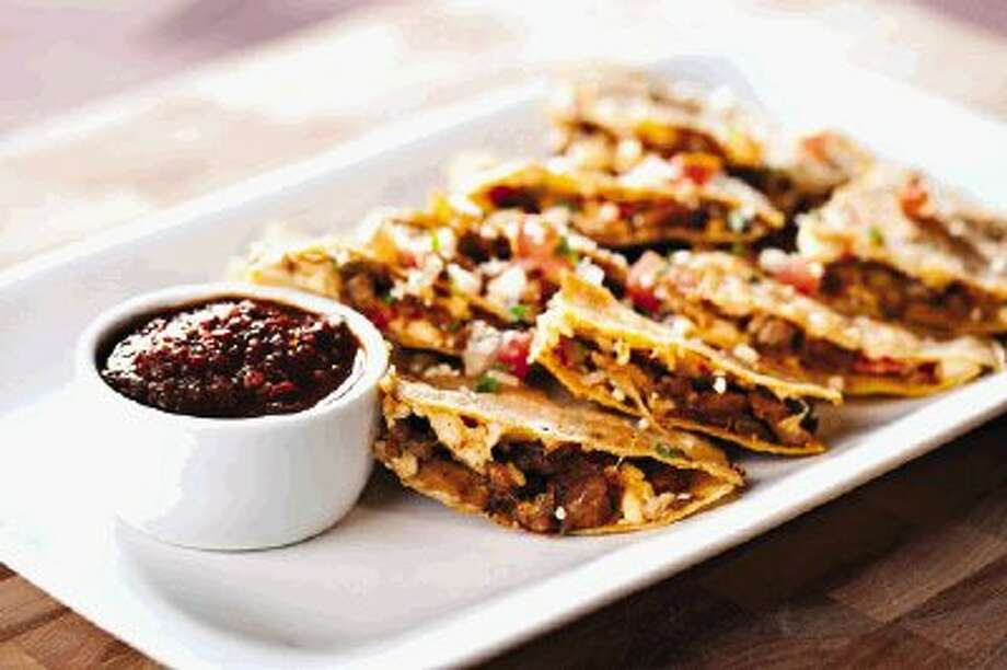 Pork quesadillas at Perry's. If you happen to run into Brad there, don't expect him to share.