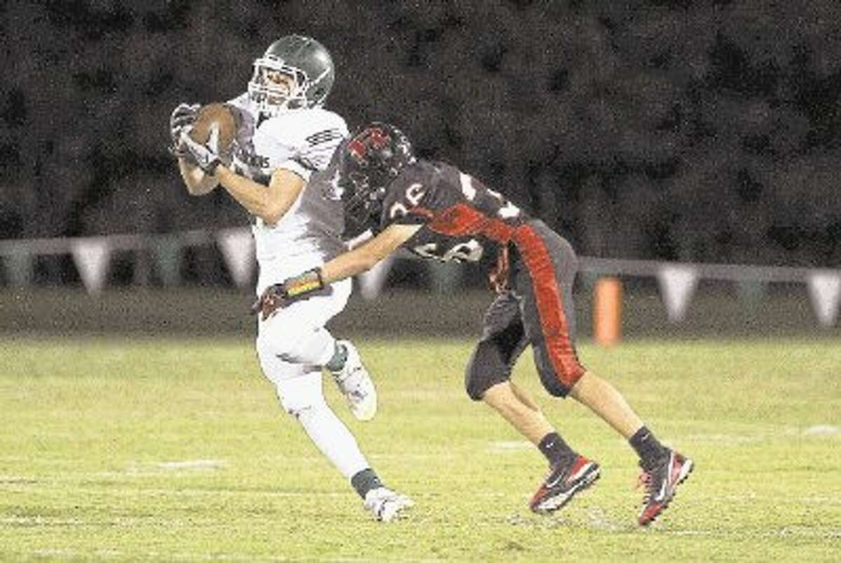 Wide receiver Dirk Sanford and The Woodlands Christian Warriors visit Legacy Christian on Friday in Beaumont.