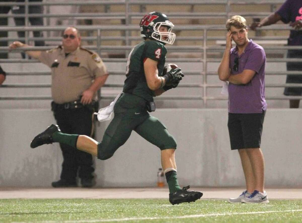 The Woodlands wide receiver/return man Tyler Patrick is The Courier's Montgomery County Player of the Week.