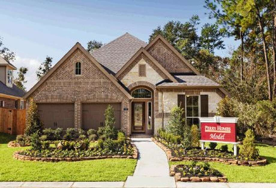 Perry Homes Opens New Model In Woodforest