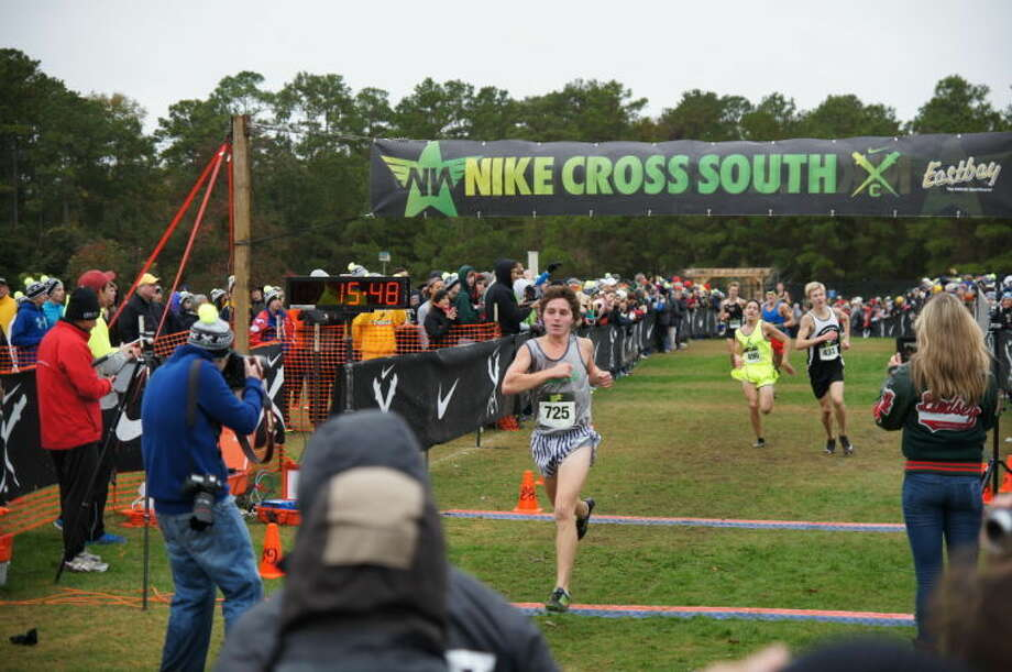 College Park's Connor Meaux narrowly missed the cut for the Nike Cross Nationals on Saturday, as he finished eighth overall at the South Regional. Photo: Courtesy Photo By Ted Bell