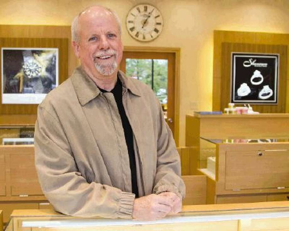Owner Gary Zoet stands in Shannon Fine Jewelry in The Woodlands Monday. Photo: Staff Photo By Ana Ramirez / The Conroe Courier/ The Woodland