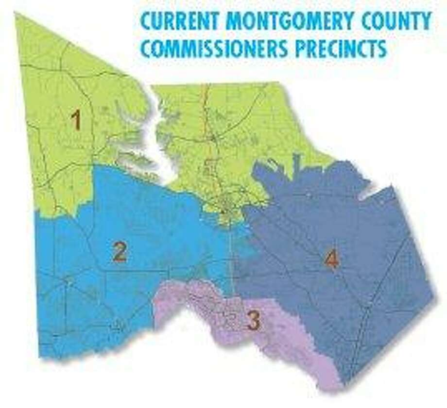 Montgomery County Texas Precinct Map