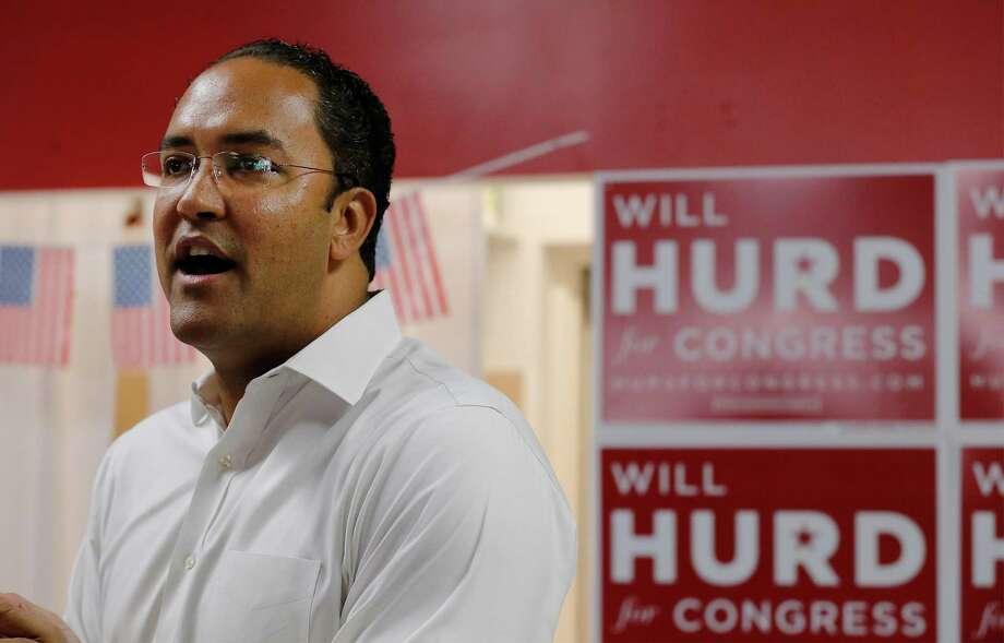 U.S. Representative Will Hurd (R, TX-23) (Kin Man Hui/San Antonio Express-News) Photo: Kin Man Hui, Staff / San Antonio Express-News / ©2016 San Antonio Express-News