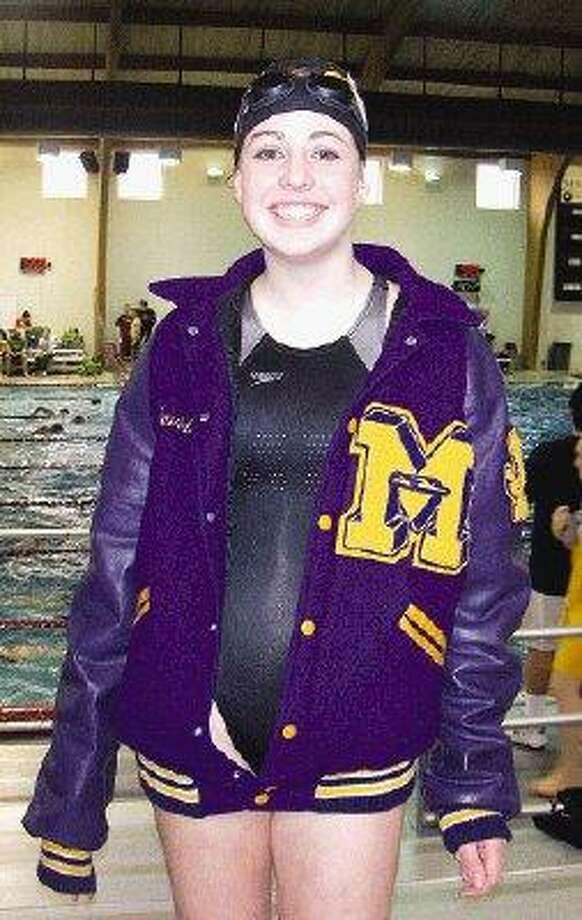 Montgomery High School junior Lauren Knutson will swim Lake Conroe to raise money for charity on Saturday. / Copyright 2006