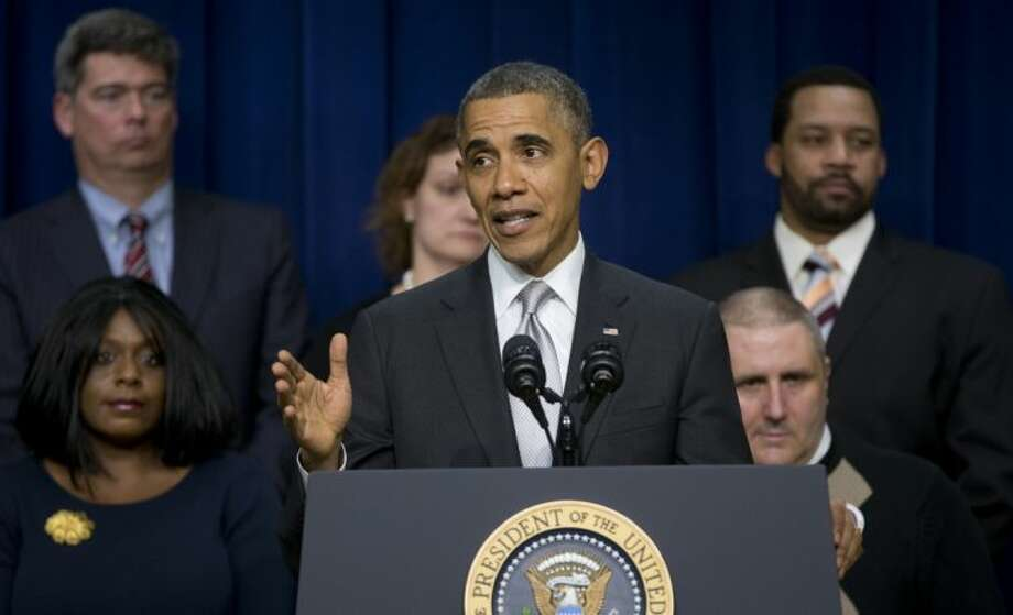 President Barack Obama speaks about the new health care law Tuesday in Washington.