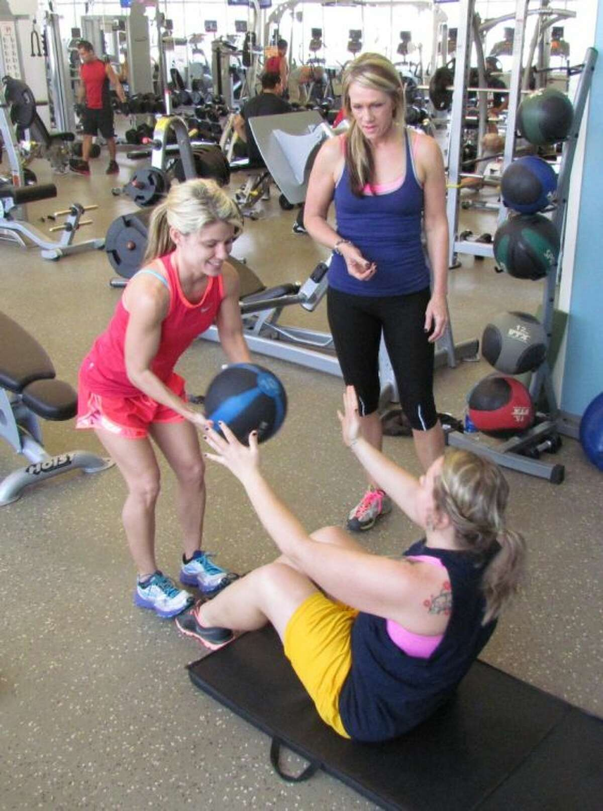 The City of Conroe's C.K. Ray Recreation Center offers personal training sessions on an ongoing basis.