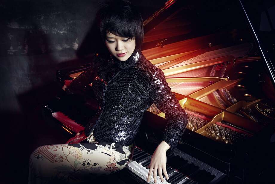 Pianist Yuja Wang doesn't sacrifice a bit of technical perfection for her depth of passion. Photo: Norbert Kniat
