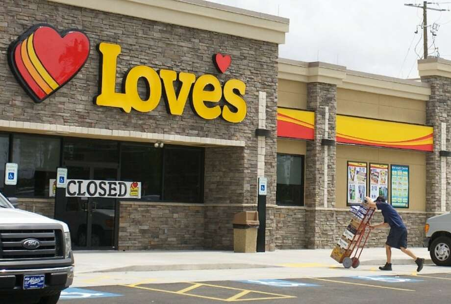 A Love's Travel Stop is slated to open the intersection of Interstate 10 and Smith Road.  Photo: Staff Photo By Eric Swist