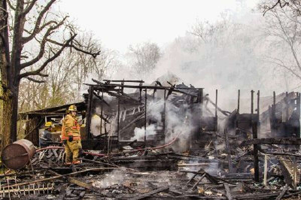 The Magnolia Volunteer Fire Department and the Needham Fire Department responded to a house fire on FM 1488 and Spur 149 Road in Magnolia on Monday afternoon. The owner of the home, Floyd Bundage, said he was cooking steaks when he noticed his porch was on fire. The fire consumed the house before crews were able to put it out.