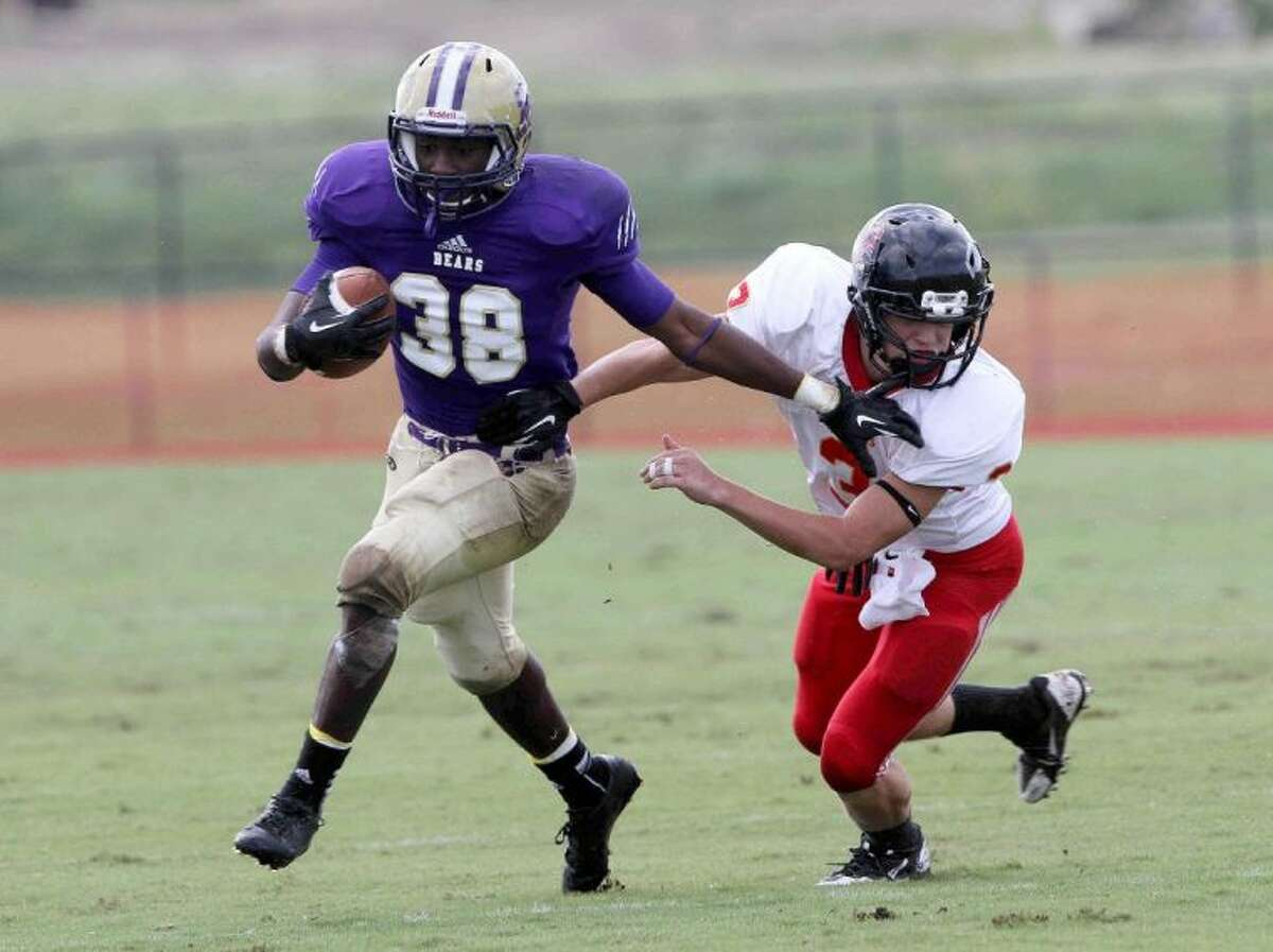 Montgomery running back Paul Allen scored three touchdowns last week against Caney Creek.