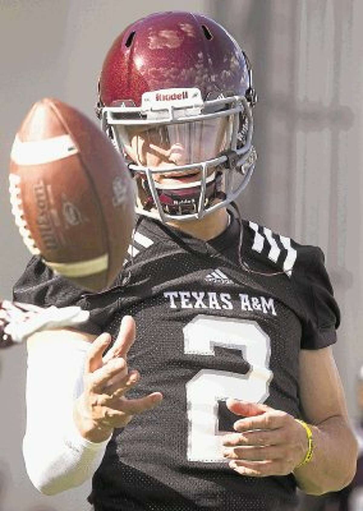 Texas A&M quarterback and Heisman Trophy winner Johnny Manziel will sit out the first half of Saturday's game against Rice.