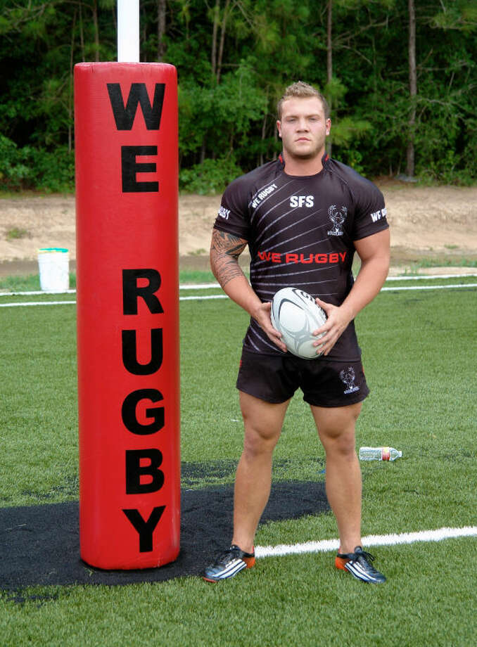 WE Rugby player Jordan Allan has played rugby in both Wales and Canada. WE Rugby recently qualified for the Men's Senior Club 7s Championships. Photo: Staff Photo By Jon Poorman