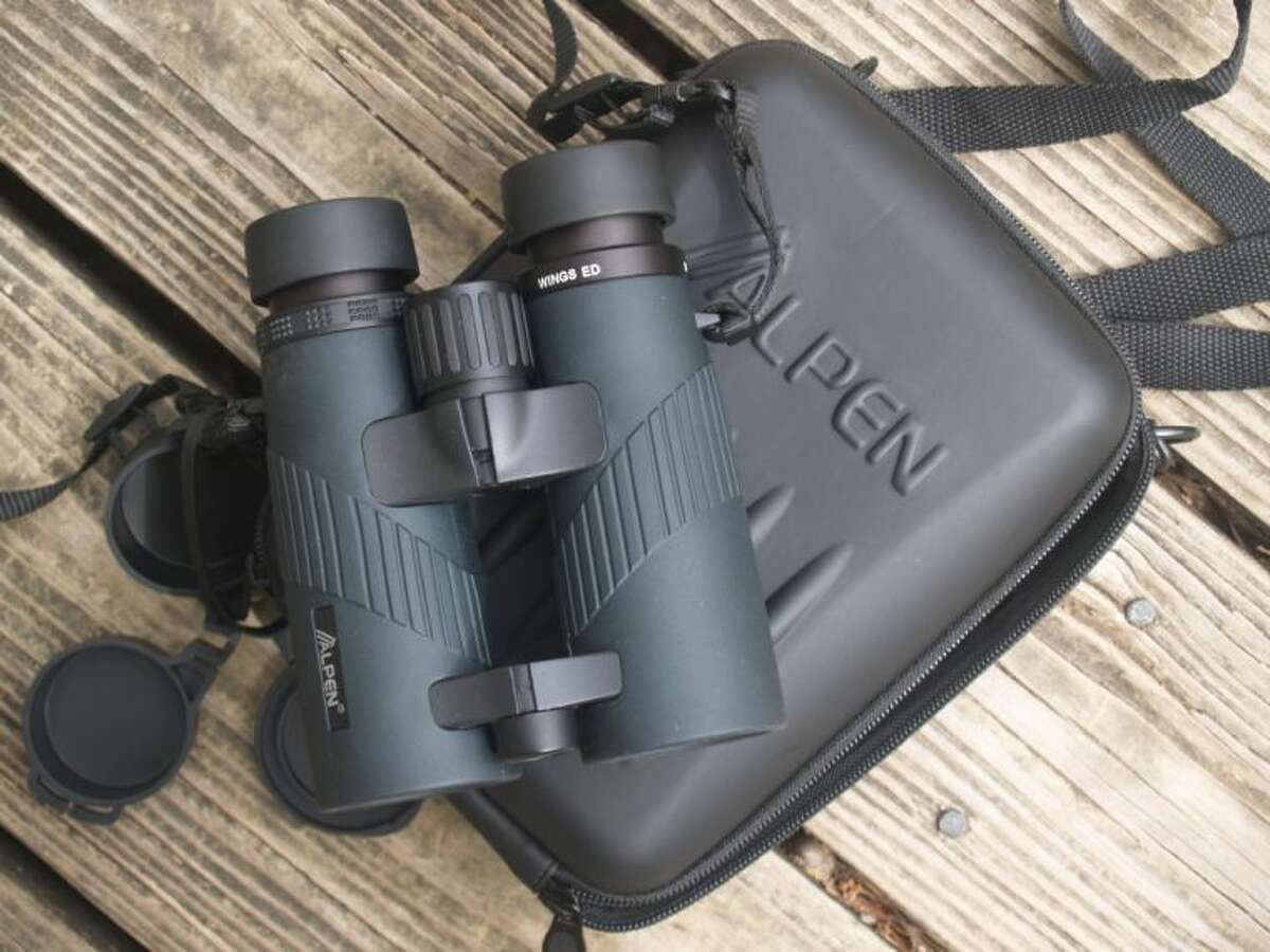I used a pair of Alpen binoculars for a recent birding trip.