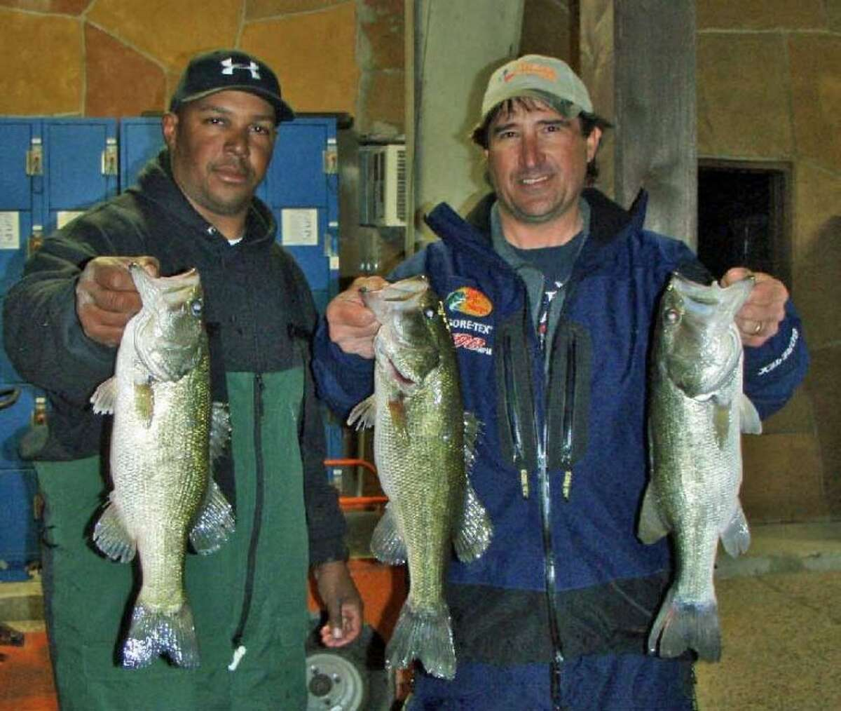 Robert Baney and Rondell Joseph won the Conroe Bass Tuesday Night Tournament on March 5 with a stringer weight of 7.79 pounds.