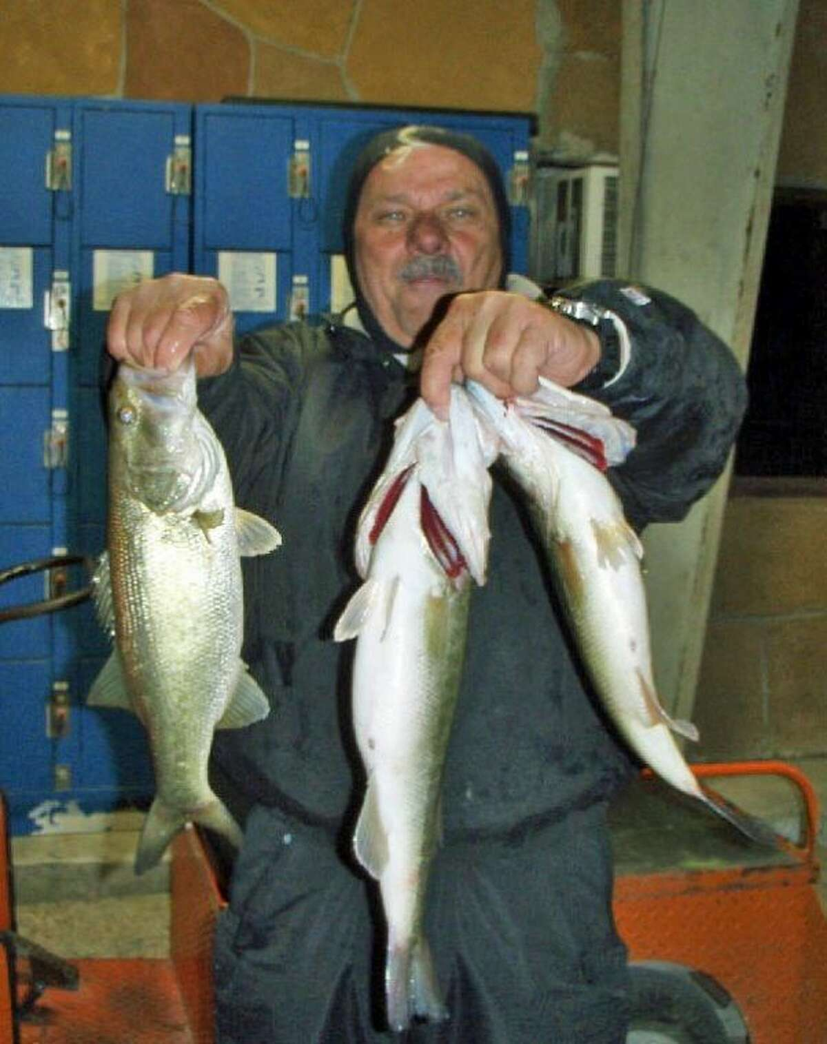 J.D. Baer finished second in the Conroe Bass Tuesday Night Tournament with a stringer weight of 6.57 pounds.