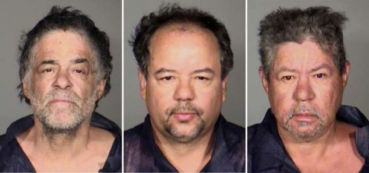 This undated combination photo released by the Cleveland Police Department shows from left, Onil Castro, Ariel Castro, and Pedro Casto.The three brothers were arrested Tuesday after three women who disappeared in Cleveland a decade ago were found safe Monday. The brothers are accused of holding the victims against their will.