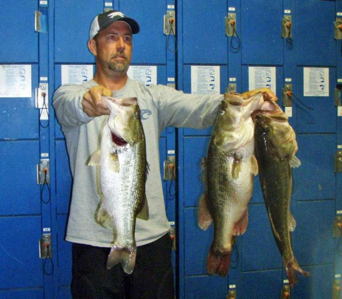 David Bozarth and Russell Cecil won the Conroe Bass Tuesday Night Tournament on May 14 with a stringer weight of 16.56 pounds.