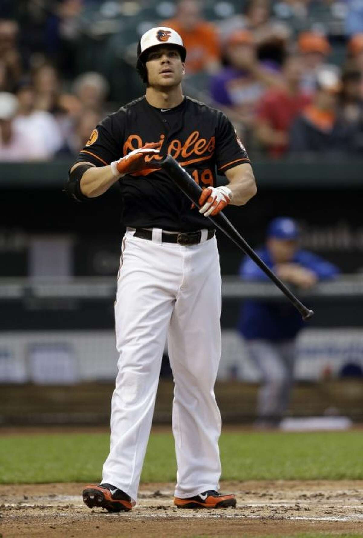The Baltimore Orioles' Chris Davis leads the majors in home runs with 36.