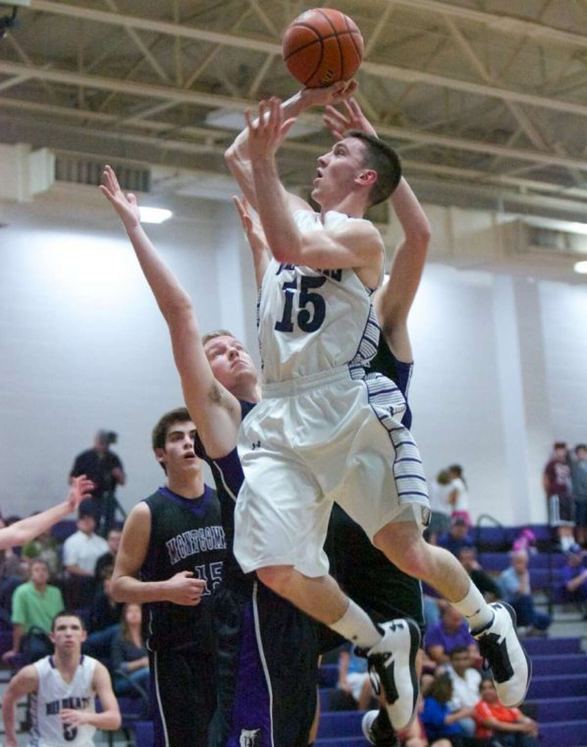 As Willis' only senior, Payne Andrus led the Wildkats to an 18-12 record and a tie for second place in District 18-4A.