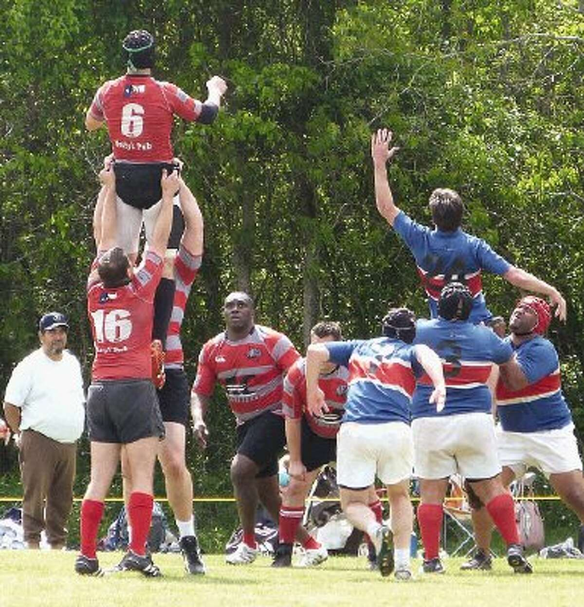 Rugby may look a little like soccer and even more like football, but its a very different sport.