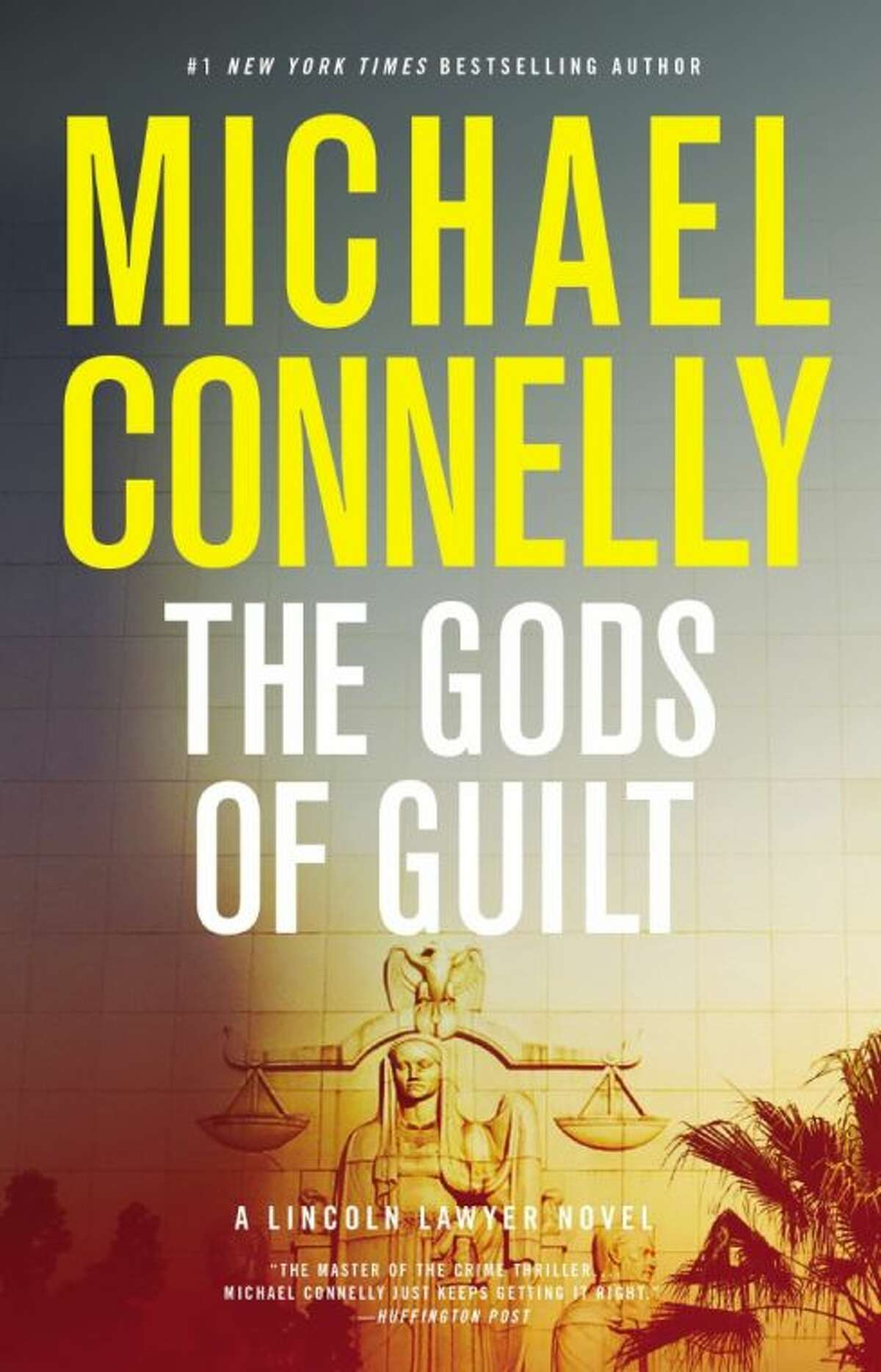 """This photo provided by Little, Brown and Company shows the cover of the book, """"The Gods of Guilt,"""" (Little, Brown and Company) by author Michael Connelly . (AP Photo/Little, Brown and Company)"""